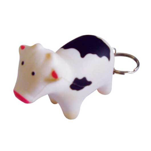 Stress Cow Keyrings